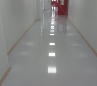 Healthcare Industry Epoxy Flooring